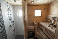 Sauna and shower facilities