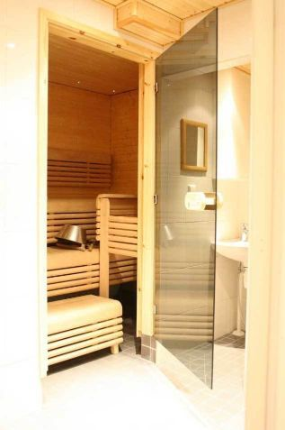 Sauna area of an apartment