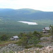 Views of fell of Levi, Finnish Lapland